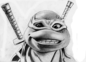 LEONARDO (TMNT) by Acid-Flo