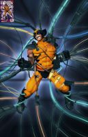 Wolverine 100 Cover in 3D by HecM