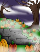 Halloween Background by camilleartist132
