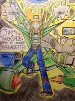 Jimmy Two Shoes Voltron Jimmy in Anime Form by MarionetteJ2X