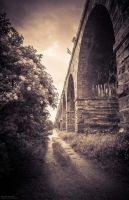 Staring down the vanishing point by LU-Robyn