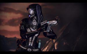 Me3 Rannoch-4 - Tali 8 by chicksaw2002
