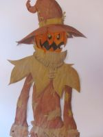 Scarecrow Painting by dragon2000200