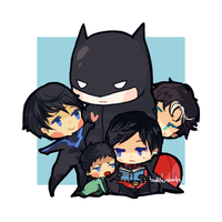 batfam!! by battlerobots