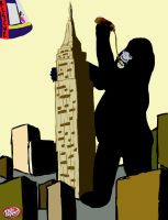 King Kong for Dr P by tiny9261997