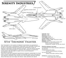 SF14 Thunder by AdmiralSerenity