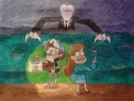 Gravity Falls~Did you hear that?... by KaitlynAnn