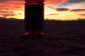 Desert Vitamin Water Number Two by InsanePiePhotography