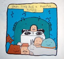 Mr. Scruff party by markfrancis