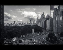 Columbus Circle by Tomoji-ized
