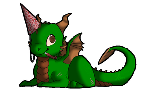 Chibi Daire - Birthday Gift by Blue-Dragons-Fan