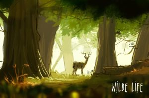 Wilde Life Deer Woman by Lepas