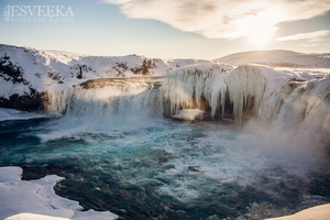 Godafoss by Esveeka