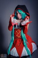 Hatsune Miku Cat Food Cosplay by InfirnaPricessLolita