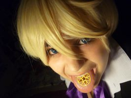 Alois Trancy's tongue by Contenebratio