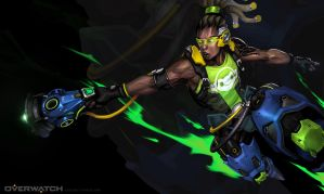 Overwatch Lucio by KaelNgu