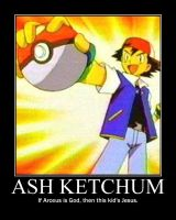 Ash Ketchum by UltimatheGod