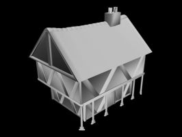 Medieval House by Vahron