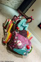 Vanellope von Schweetz and her Kart 1 by Insane-Pencil