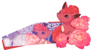 Vulpix Siggy by Amity-And-Sorrow