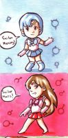 Sailor Moon R by Gigei