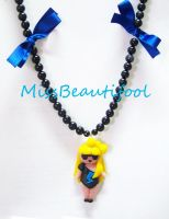 Lady Gaga Necklace by missbeautifool