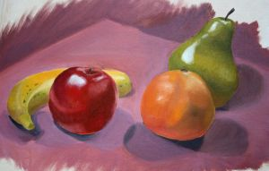 Fruit in Oil by icantthinkofaname-09