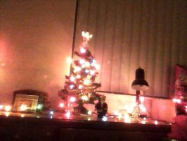 christmas desk docoration by Tinkerbell0522