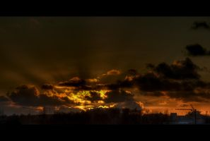 Fire in the sky by bubus666