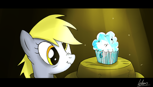 Ditzy Doo - And the quest for the sapphire muffin by Khan-the-cake-lover