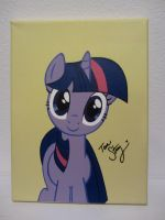 Autographed Twilight Painting by pyrobob