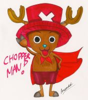 One Piece: Chibi Chopperman by aaamaaa