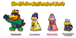 The Royal Family of the Melodius Kingdom by Noctalaty
