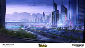 Trials Fusion - City Downtown by artofjokinen