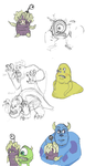 Monsters Inc. study by SippingTea