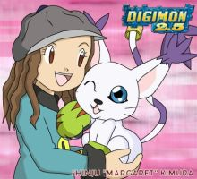 Best Partner: Margaret and Gatomon by CherrygirlUK19