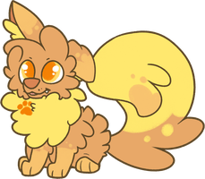 Topaz Pup by pupom