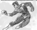Hal Jordan Sketch by SuperPoser