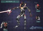 Movie Ultron - The Avengers by DarthDestruktor