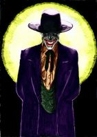 Joker in the Spotlight by jokercrazy