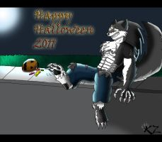 Be-were, it's Halloween. by kzmaster