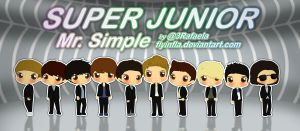 Super Junior - Mr. Simple by flyinfLa