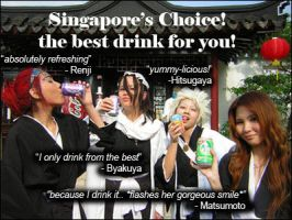 Bleach: Singapore's Choice by niladnama