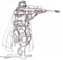 GitS Force Recon sniper by johnnyharadrim