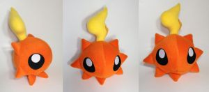 Digimon - Sunmon custom plush by Kitamon