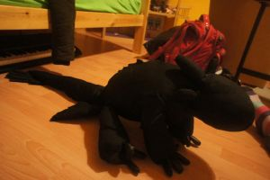 toothless:D by lupus-miles
