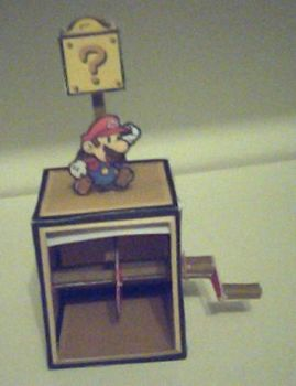 Mario Automat Papercraft by ganon-destroyer