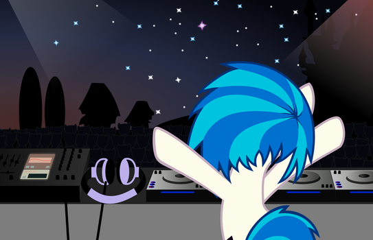 Open air party by UP1TER
