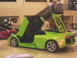 Green Lambo by RoadWarrior00