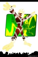 BEN 10 - Heatblast by RAMONSALAS